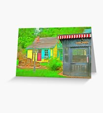 Cook Shack  Greeting Card