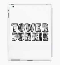 Tower Junkie Black and White iPad Case/Skin