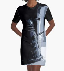 Dalek in the Wings Graphic T-Shirt Dress