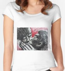 Lovers - Her Kiss Women's Fitted Scoop T-Shirt