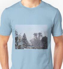 Winter Morning Snow Scene Unisex T-Shirt
