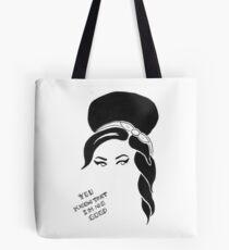 Amy Winehouse Sticker Tote Bag