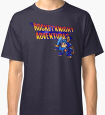 Rocket Knight Adventures (Genesis Title Screen) Classic T-Shirt
