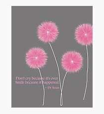 Dr Seuss Quote Photographic Print