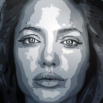 Angelina Jolie by llamateeth