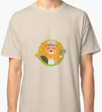 Viking lion with circle Classic T-Shirt