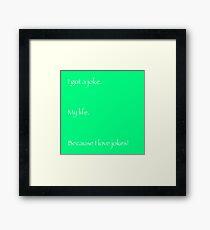 I Got A Joke (My Life) - Anthony Rosenthal Framed Print