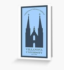 Villanova Greeting Card