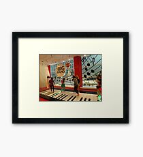 The Big Piano, FAO Schwarz Toy Store, New York City Framed Print