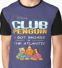 Club Penguin Panda / Broads in Atlanta  Graphic T-Shirt