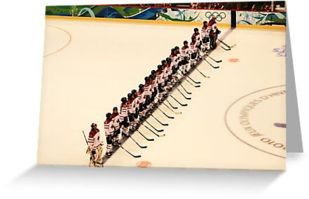 The Canadian Lineup - 2010 women's Olympic hockey by smw24