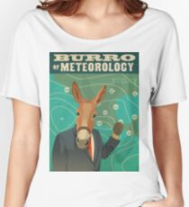Burro of Meteorology Women's Relaxed Fit T-Shirt