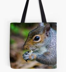 close up of a squirrel Tote Bag