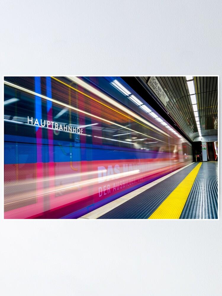 Alternate view of U-Bahn -- Germany Poster