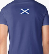 Scottish Flag Dress Skirt Men's V-Neck T-Shirt