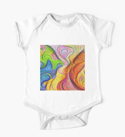 Color Cracks #DeepDream Kids Clothes