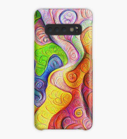 Color Cracks #DeepDream Case/Skin for Samsung Galaxy