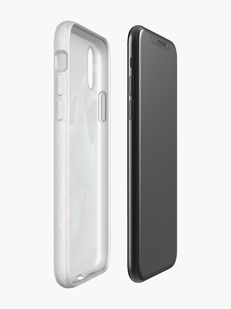 Alternative Ansicht von Blauer Wyvern iPhone-Hülle & Cover