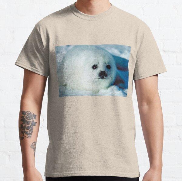 Lindo sello Camiseta clásica