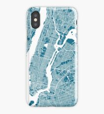 New York City Map iPhone Case
