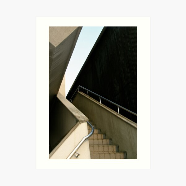 Staircase in Nagoya, Japan Art Print