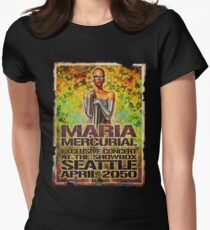 maria mercurial Womens Fitted T-Shirt