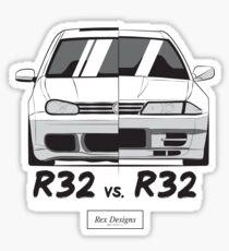 R32 vs. R32 Sticker