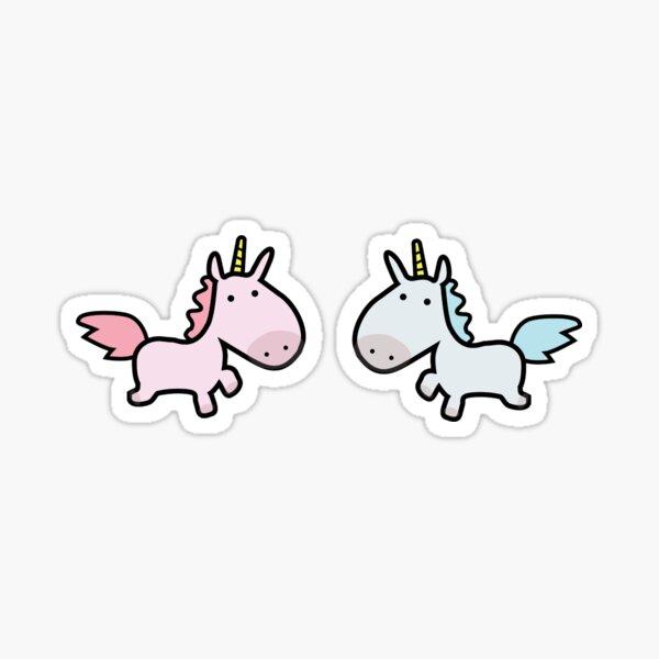Unicorn Pair Sticker