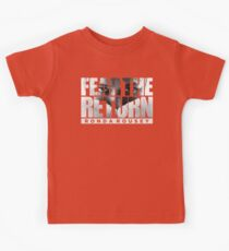 Fear The Return - Ronda Rousey (Original Artwork) Kids Tee