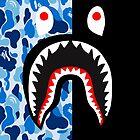 « bape blue black shark » par havierdebro