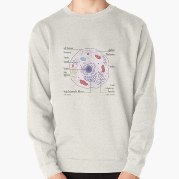 Animal Cell Pullover Sweatshirt
