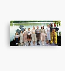 Pennywise in The Sound of Music Canvas Print