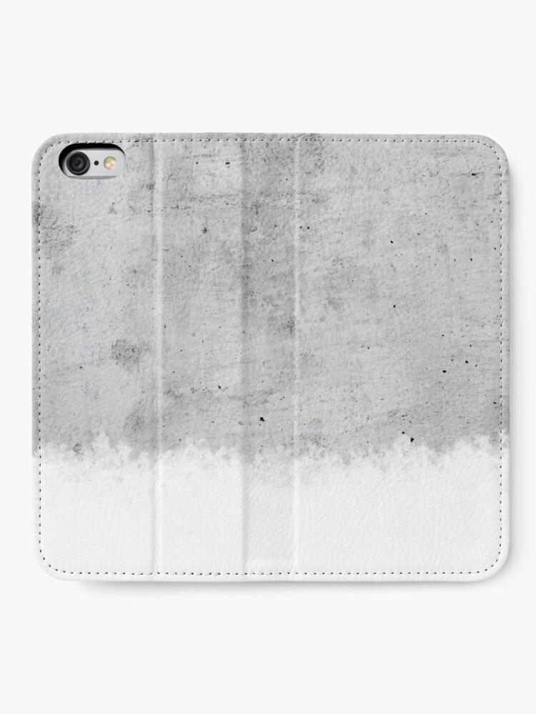 Alternative Ansicht von Beton iPhone Flip-Case
