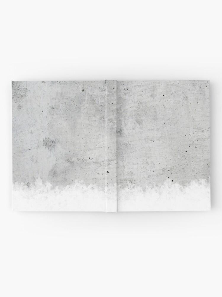 Alternative Ansicht von Beton Notizbuch