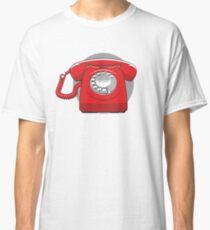 Altmodisches Telefon Classic T-Shirt