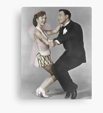 Debbie and Gene Canvas Print