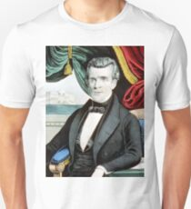 James K. Polk - eleventh president of the United States - 1850 - Currier & Ives T-Shirt
