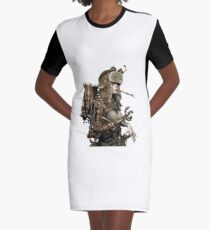 Steamgirl Graphic T-Shirt Dress