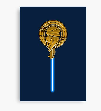 Hand of the Jedi Canvas Print