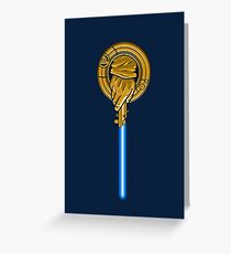 Hand of the Jedi Greeting Card