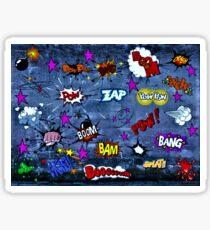 COMIC STRIP Sticker