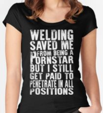 WELDER LIFE TSHIRT 2016 Women's Fitted Scoop T-Shirt