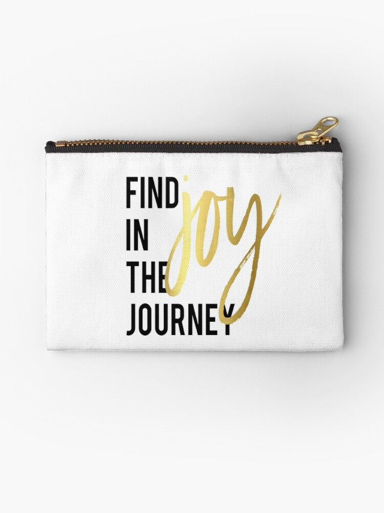 Pink Motivational Poster Find Joy In The Journey Inspirational