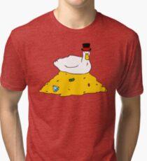 Fabulously Wealthy Duck Tri-blend T-Shirt