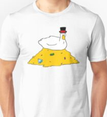 Fabulously Wealthy Duck Unisex T-Shirt