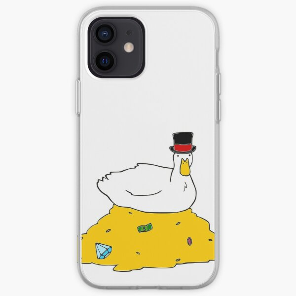 Fabulously Wealthy Duck iPhone Soft Case