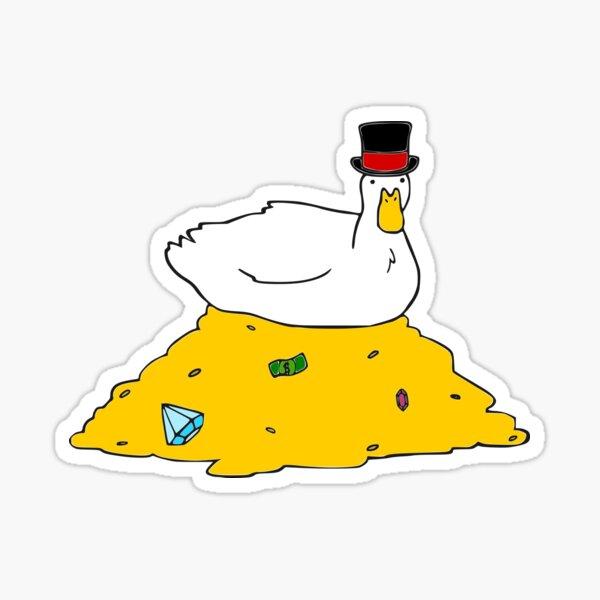 Fabulously Wealthy Duck Sticker