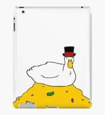 Fabulously Wealthy Duck iPad Case/Skin