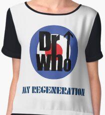 Dr Who My Regeneration Women's Chiffon Top