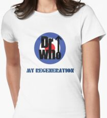Dr Who My Regeneration Womens Fitted T-Shirt